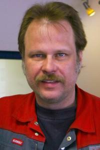 Werkstattmeister Frank Hadamitzky